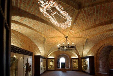 Historycznu muzeum, Troki, Litwa